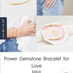 Gorjana Power Gemstone Bracelet for Love